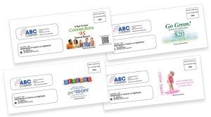 Full Color Envelope Message