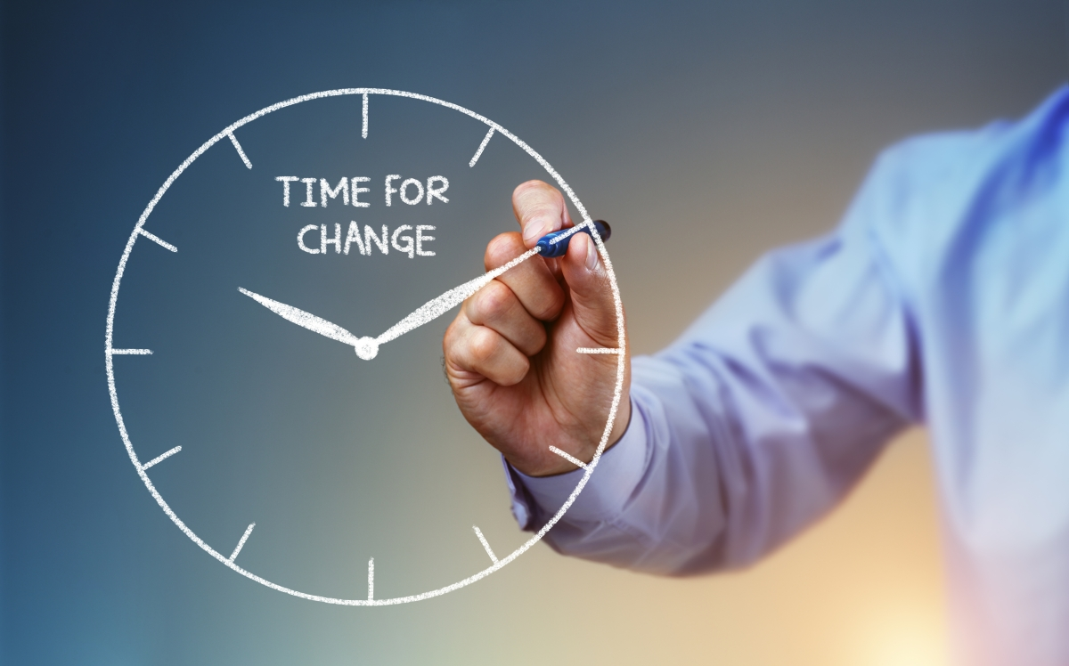Changing the time and time for a change for Time for business